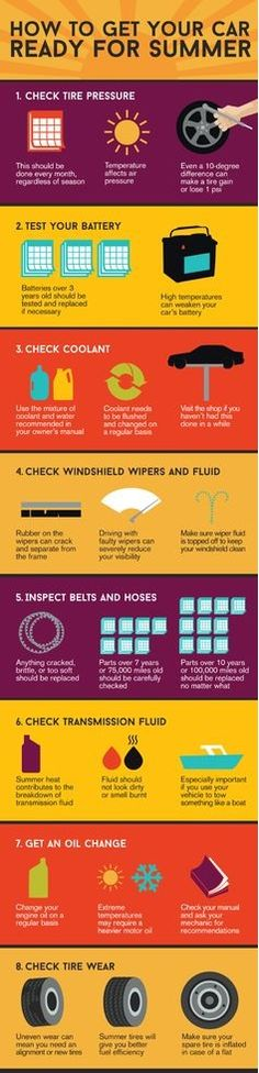 How to Ready your car for summer