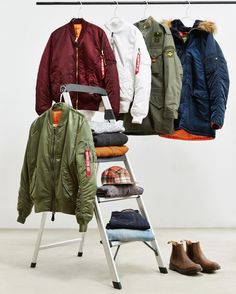 """""""New and UO-exclusive drops from @alphaindustries now available. Learn more about the brand and their 55 years of designing flight jackets—now on the UO…"""""""