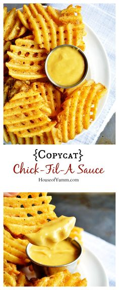 {Copycat} Chick-Fil-A-Sauce recipe! Perfect for dipping. Easy to make | Houseofyumm.com