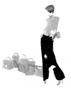 fashion illustrator Aurore de La Morinerie