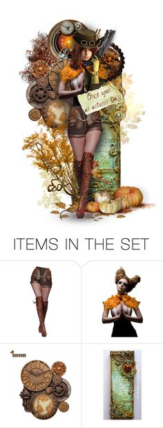 """""""Steampunk Fall"""" by fm3happy ❤ liked on Polyvore featuring art"""