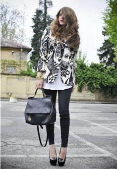 The Jacket    Shop this look on Kaleidoscope (blazer, jeans, pumps, purse)  http://kalei.do/W1ry4br8PLsvpG3O