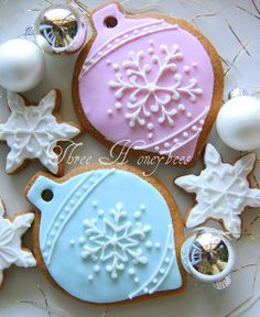 Snowflake Ornament Cookies | Flickr - Photo Sharing!