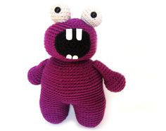 Free patterns for these delightful crocheted amigurumi monsters designed exclusively by Stacey Trock at FreshStitches! TWO new patterns each week, from now until Halloween..