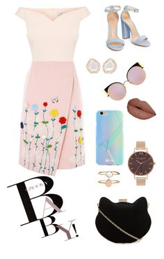 """I think it's cute."" by reyna-mxrie on Polyvore featuring November, New Look, VIVETTA, Fendi, Olivia Burton, Accessorize, Kimberly McDonald and UPROSA"