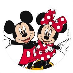 Cialda in ostia per torte Mickey&Minnie™