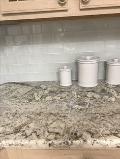 11 Best White Springs Granite Images Kitchens Dressers Kitchen