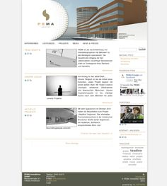 www.pema.at Website, Shopping, Projects