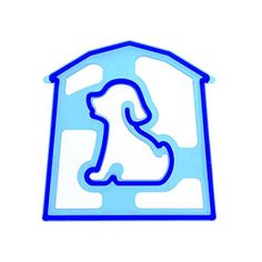 TOOGOOR DogShaped Sandwich Cutter Cookie Biscuit Cutter  Blue -- To view further for this item, visit the image link.