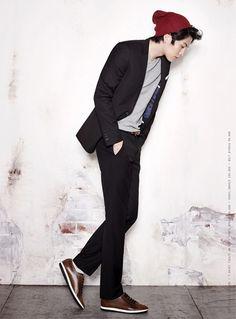 Lee Min Ki poses for The Class