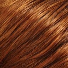 pumpkin spice hair color - decided this is the color i want!!