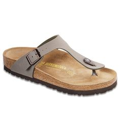 c6898396182 Birkenstock Women´s Gizeh Stone Birkibuc Sandals 35 EU US R 043391      Check this awesome product by going to the link at the image.