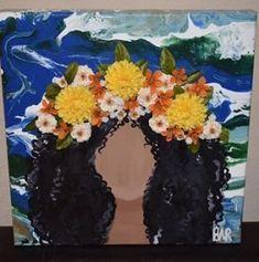 Diy Artwork, Nature Artwork, Nature Paintings, Artwork Ideas, Art Ideas, Art Nature, Arte Grunge, Arte Sketchbook, Mini Canvas Art