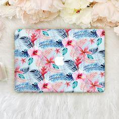 Palmas Flowers Macbook Pro 13 Leaves Laptop Case Macbook Hard