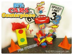 Disney car birthday ideas