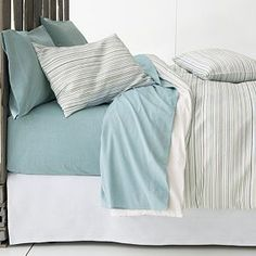 Chambray Blue Sheet Sets