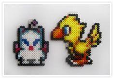 Pixel Art Shop: Chocobo & Mog