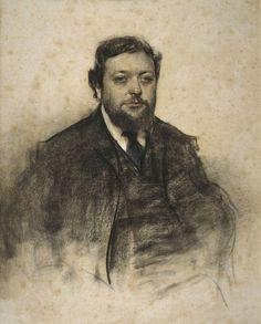 The Athenaeum - Portrait of Léon Jaussely (Ramon Casas y Carbó - )