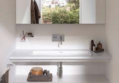 Ultra Modern Flat Bathroom Sinks by Laufen