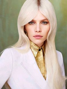 """""""70s Revival"""" Aline Weber by Matt Irwin for Vogue China Collections December 2014"""