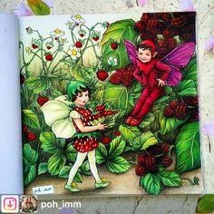 From@poh_imm #wonderfulcoloring #coloringbook #fairies