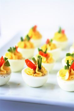 smoked salmon deviled eggs. use jalapeno cream cheese and these are amazing