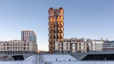 Foster + Partners reveals copper-coloured office in Yekaterinburg for RCC