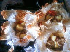 Οι συνταγές του Δίας!Dias recipes!: Κατσικάκι (Κλέφτικο) στη λαδόκολλα Greek goat meat in parchment paper
