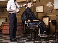 The Iron Society, is a private men's barbershop focuses on the clean classic yet modern look of today's well groomed man.