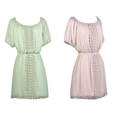 This lace trim dress looks cute paired with wedges or gladiator sandals!  http://ss1.us/a/vDXyAiWQ  http://ss1.us/a/zhP57KoR