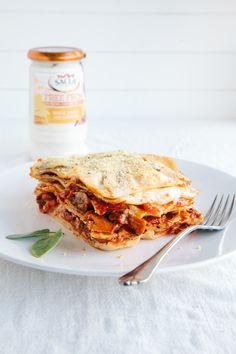 Mushroom Lasagna (Vegan   GF)