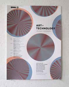 John Caserta / Art + Technology poster