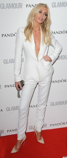 bf725f9095 abbey clancy at the Glamour Women of the year awards.. Despite her pornstar  looking