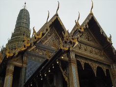 One of the many temples I visited in Bangkok. So incredible and ornate, it's amazing!