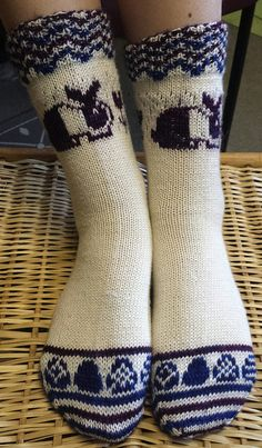 Ravelry: knitterbunny's Bouncing Bunnies Socks