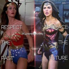 Respect... Embrace... the Wonder Woman!