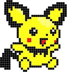 ポケモン アイロンビーズ - Yahoo!検索(画像) Pokemon Perler Beads, Diy Perler Beads, Perler Bead Art, Pearler Bead Patterns, Perler Patterns, Pixel Pattern, Pattern Art, Pokemon Cross Stitch, Pixel Art Grid