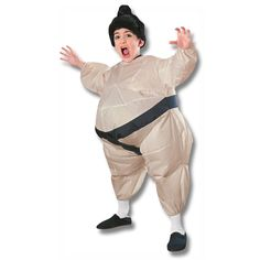 Kids Infalatable Sumo Wrestler Costume now available at http://www.karatemart.com