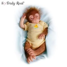 Little Jala Baby Orangutan Doll: So Truly Real