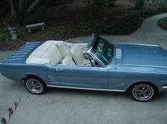 Classic Cars and Trucks for Sale - Classics on Autotrader Ford Mustang Classic, Blue Mustang, Ford Mustang 1964, Vintage Mustang, Mustang Cars, Ford Mustangs, 65 Mustang Convertible, Motor Car, Dream Cars