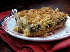 Sour Cream Raisin Bars Recipe Food - Old Fashioned Sour Cream Raisin Bars Köstliche Desserts, Delicious Desserts, Dessert Recipes, Bar Recipes, Sour Cream Raisin Pie, Baking Recipes, Cookie Recipes, Baking Pies, Raisin Recipes