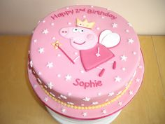Princess Peppa Pig Cake   Flickr - Photo Sharing!