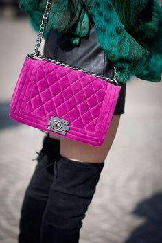 Street style Milan Fashion Week otono invierno 2014