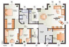 ▷ extrem cooler Grundriss für einen Bungalow. Bärenhaus Bungalow One 139                                                                                                                                                                                 Mehr