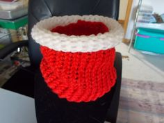 SALE  Christmas Doggie Cowl  small by SecChnceTreasure on Etsy, $6.00