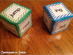 How to Learning Cubes for Word Work-Rolling suffix endings Activities- Easy and Fun!