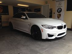 M4 with Mode Carbon front lip purchased at WaxWerks.
