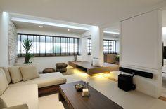 Resort-feel five-room HDB with hidden storage space