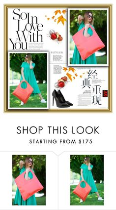 """""""Hand Made Leather Bag by EUG FASHION"""" by eug-fashion ❤ liked on Polyvore featuring Yves Saint Laurent and EUGfashion"""