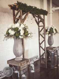 Pallet Arch! Rent from Events by. I Candy. www.eventsbyicandy.com